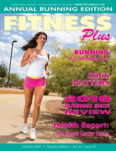 Fitness Plus Magazine Cover