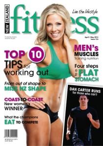 Rita Catolino Fitness Magazine