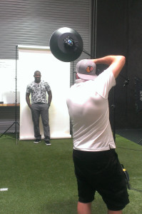 Behind the Scenes James Patrick photo shoot with Patrick Peterson