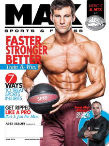 Max Sports & Fitness Magazine Featuring Dave Dreas Photographed by James Patrick