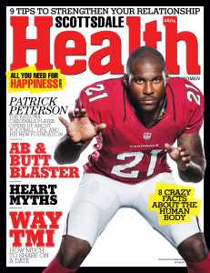 Scottsdale Health Magazine - Patrick Peterson Cover - Photo by James Patrick