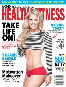 Women Health & Fitness Featuring Brooke Stacey