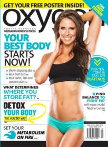 Oxygen Magazine AU Nadine Dumas