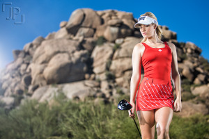 Golf Magazine Paige Spiranac Photographed by James Patrick