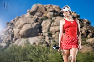 Golf Magazine Paige Spiranac Photographed by James Patrick