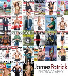 James Patrick Photography 2018 Magazine Covers