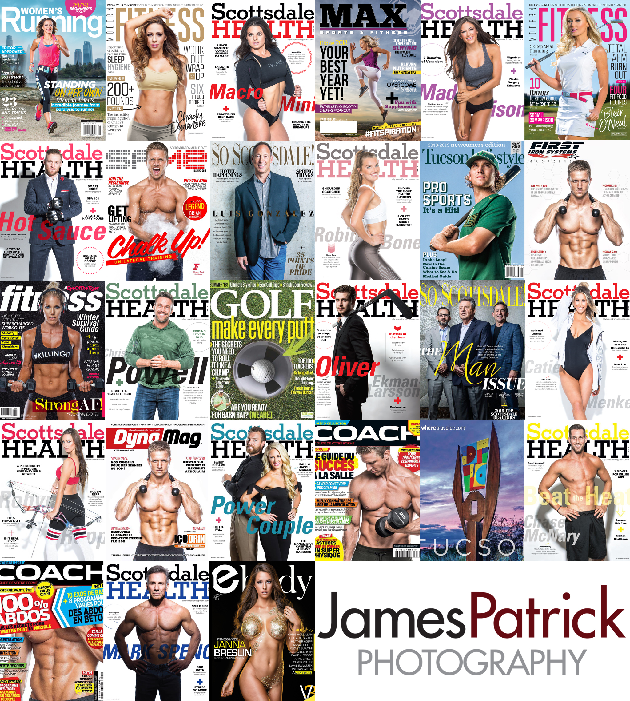 2018 Magazine Covers