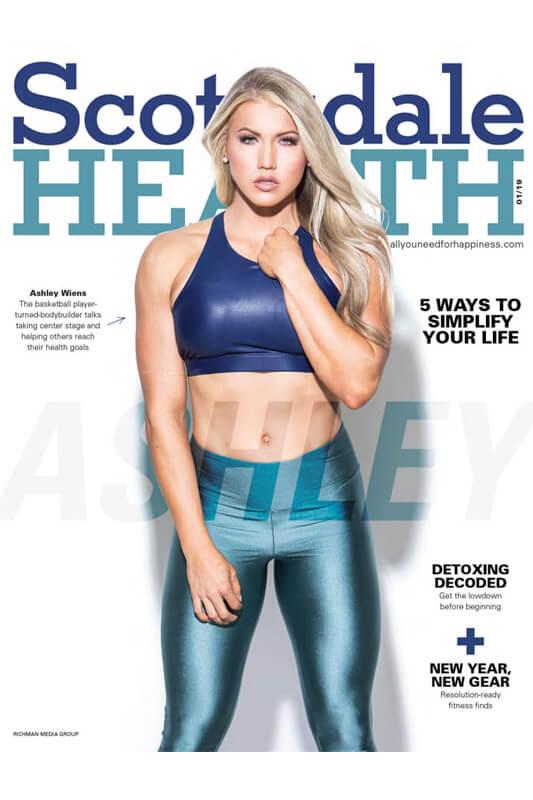 Scottsdale Health Magazine featuring Ashley Wiens