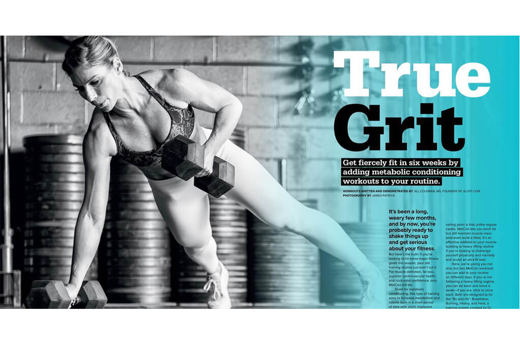 Strong Fitness Magazine Jill Coleman photographed by James Patrick