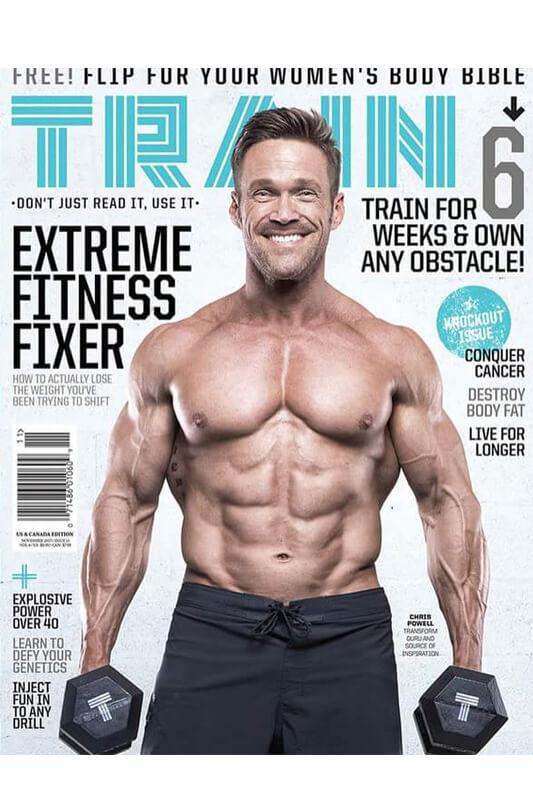 Train Magazine Chris Powell Cover