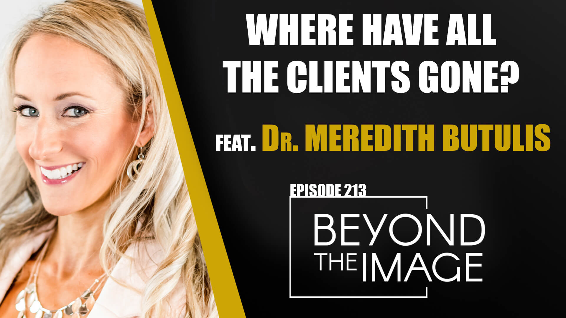 BTI #213: Where Have All the Clients Gone? Feat. Dr. Meredith Butulis