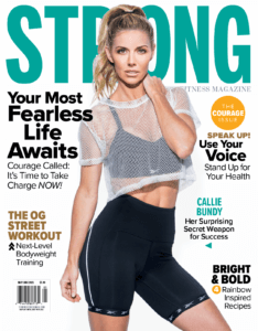 STRONG Fitness Magazine featuring Callie Bundy photo by James Patrick